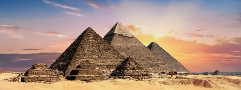 Pyramids Egypt Egyptian Ancient